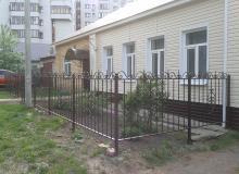 Забор ул.Кайспийская д.7