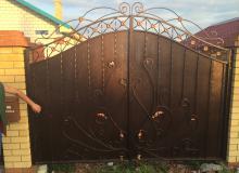 Ворота ул.Беркутова д.38