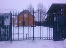 Ворота п.Вишнёвка