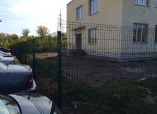 Забор ул.Богатырёва 18