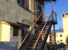 Лестница ул.Боготырёва д.18
